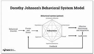 Dorothy Johnson  Behavioral System Model  Study Guide