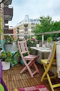 Ikea Table Balcon : inspiration balcon cocon d co vie nomade ~ Teatrodelosmanantiales.com Idées de Décoration