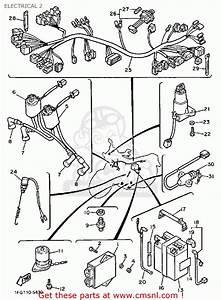 1986 Yamaha Maxim 700 Wiring Diagram