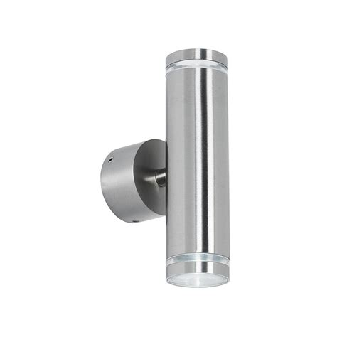 endon el 40080 outdoor led stainless steel up down wall