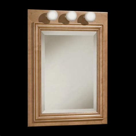Menards Bathroom Medicine Cabinets With Mirrors by Pace Plantation Series 24 Quot Lighted Medicine Cabinet