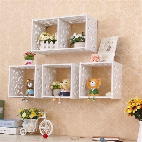 Decorative Storage Shelves - aliexpress buy home decorative organizer shelves one