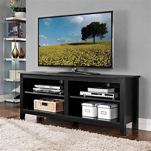 walker edison furniture company essential black storage With house and home furniture tv stands