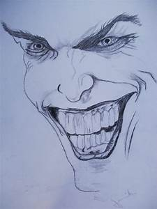 Joker pencil drawing by Denikk on DeviantArt