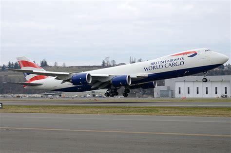 British Airways World Cargo G-GSSF | Gave me a hair cut ...