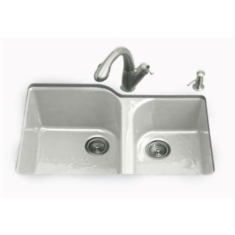 kohler executive chef sink accessories kohler executive chef undermount cast iron 33 in 4