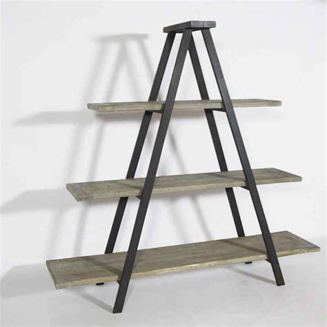 chaise de bureau en bois etagère échelle bois recyclé made in meubles