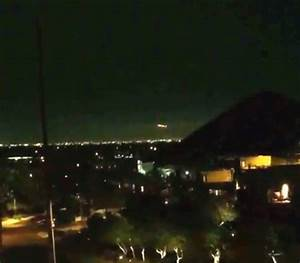 UFO SIGHTINGS DAILY UFO Lightings Over Phoenix Arizona