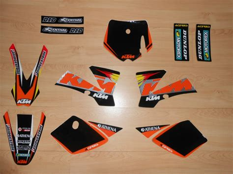 kit deco 125 sx 2006 kit d 233 co complet ktm sx 50 02 224 08 rd2shop fr