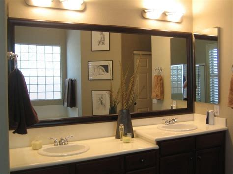How To Decorate A Bathroom Mirror by 20 Ideas Of Large Mirrors For Bathroom Walls Mirror Ideas