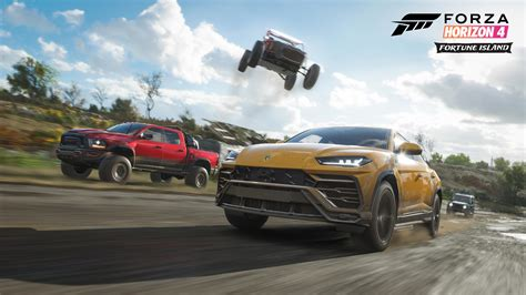 forza 4 horizon forza horizon 4 fortune island map hides many loot chests dlc out next week vg247