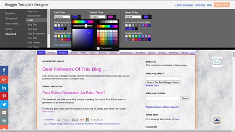 html link color magic links and colors
