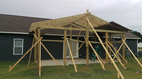 Patio Construction by Covered Patio Construction Leland Nc
