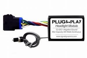 Plug  U0026 Play U2122 Headlight Module   Dual H4 Harness Adapter