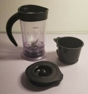 Coffee bvmctp1 iced tea maker replacement pitcher, 2 quart. Mr Coffee OEM Cafe Frappe Maker BVMC-FM1 Replacement Parts Pitcher Jug Top   eBay