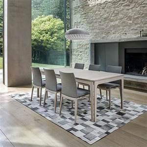 table de salle a manger scandinave en bois avec allonges With meuble salle À manger avec chaises salle À manger en bois pas cher