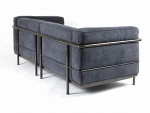 galerie alexandre guillemain artefact design la With le corbusier lc3 canapé 3 places
