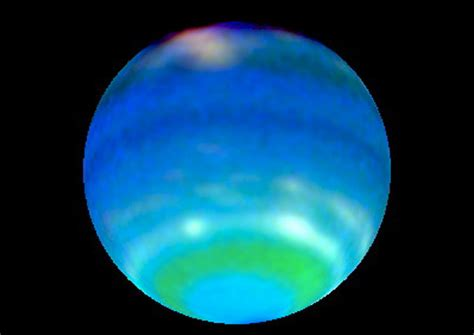 what color is uranus powerful winds on planets confined to a thin