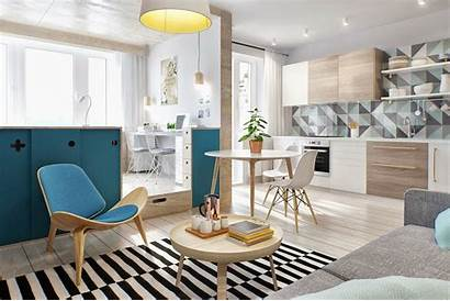 Apartment Studio Young Simple Plans Couple Concepts