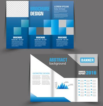 Brochure Design With Trifold Colorful Template Brochure Design With Trifold Colorful Template