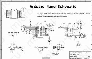 Arduino Nano V30 Schematic