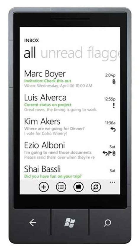 what does e on phone windows phone 7 enterprises go with windows phone 7