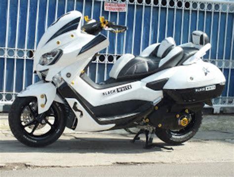 modifikasi yamaha nmax putih kit desain yamaha nmax yamaha motorcycle