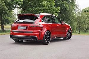 Cayenne Turbo S : mansory 2016 porsche cayenne turbo is a carbon and red swiss army knife autoevolution ~ Medecine-chirurgie-esthetiques.com Avis de Voitures