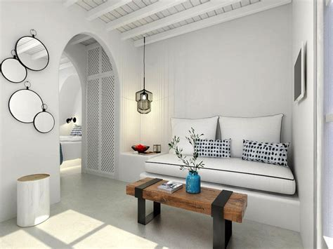 cycladic house  dilapidated summer home renovated  kp