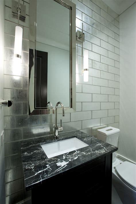 powder room mirror powder room contemporary with bathroom mirror backsplash tiles kitchen contemporary with barware