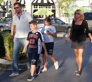 Brad Garrett And Family At The Calabasas Commons Mall - Zimbio