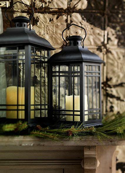 set   rubbed oil bronze candle lanterns