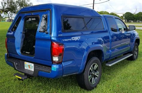 tacoma cap toyota walk door truck topper mx series toppers line sales main preview