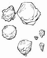 Meteor Coloring Asteroid Drawing Asteroids Comet Meteorite Sketch Getcolorings Printable Dinosaur Astroids Getdrawings Template sketch template