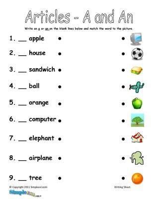 exercises for esl a and an pesquisa phonics english grammar worksheets english