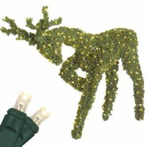 Christmas Light Clips For Reindeer Outdoor Christmas Decorations 4 8 39 Head Down Reindeer
