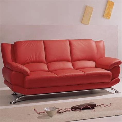Sofas Leather Sale by Red Leather Sofa Home