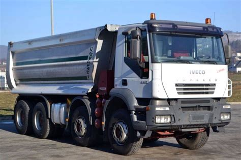 Iveco Trakker 440 Kipper * 8x4 Top Zustand! Tipper From