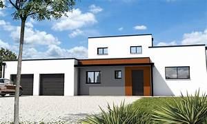 maison cubique jeu de volumes et couleurs vannes depreux With amenagement exterieur maison moderne 4 la maison cubique en 85 photos