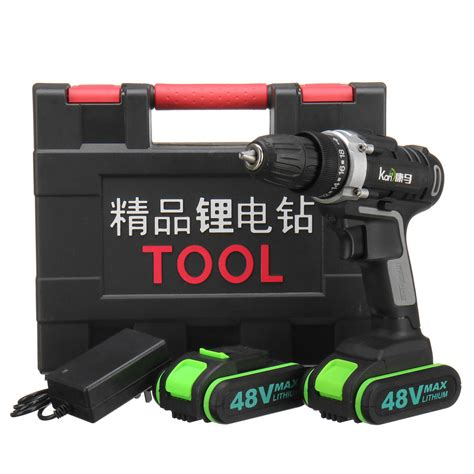 gear power drills cordless electric drill  speed