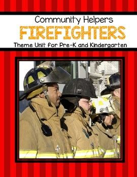 firefighters theme unit  preschool  kindergarten  kidsparkz