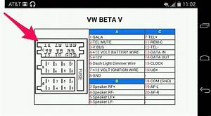 Volkswagen Beta Radio Wiring Diagram