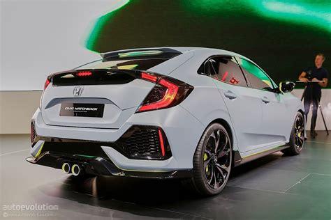 Honda Civic Hatchback Photo by 2017 Honda Civic Hatchback Previewed By Concept In Geneva