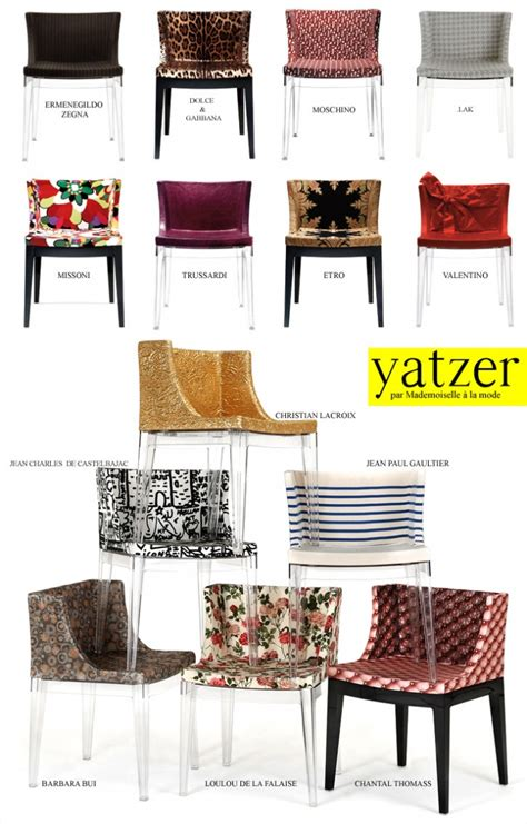 chaise mademoiselle lakis gavalas for kartell yatzer