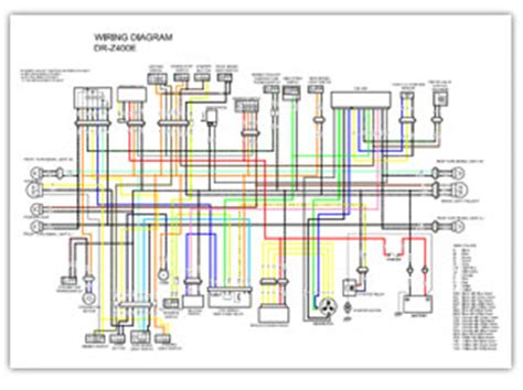 Suzuki Color Wiring Diagrams