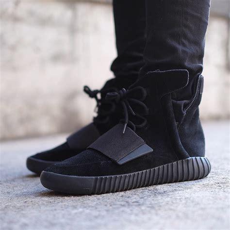 Adidas Yeezy Boost Black Kicksonfire