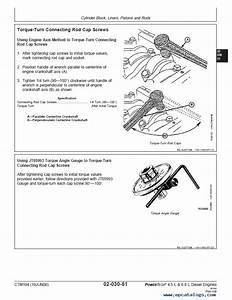 John Deere Powertech 4 5l And 6 8l Diesel Engines Ctm104