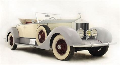 1927 Rolls Royce Owned By Legendary Hollywood Cowboy Tom
