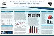 Tri-Fold Mounted Scientific Poster | MakeSigns