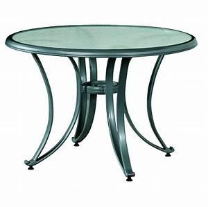 Glastisch Rund 100 Cm : aluminium glastisch silber 105 cm rund batavia gartenm bel onlineshop f r hochwertige gartenm be ~ Bigdaddyawards.com Haus und Dekorationen